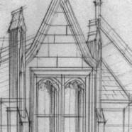 Free Hand Drawing: Magdalen College – Oxford