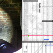 Structural survey and condition plan – Claydon House saloon ceiling